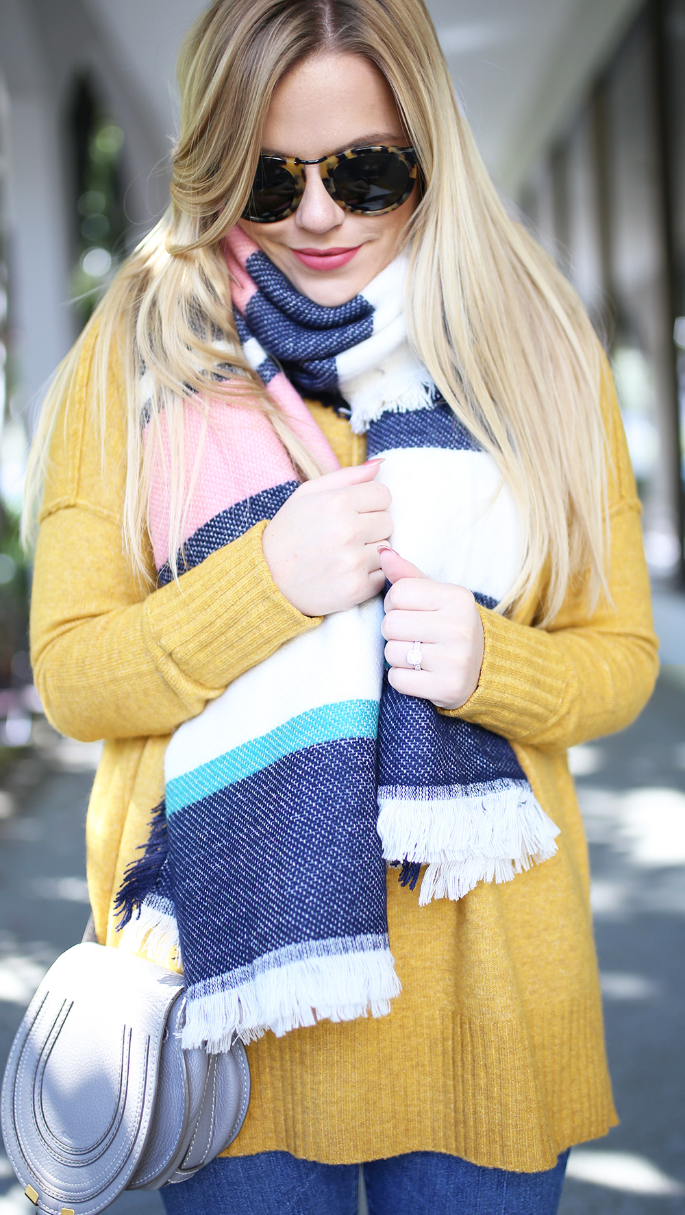 Colorful Stripe Scarf