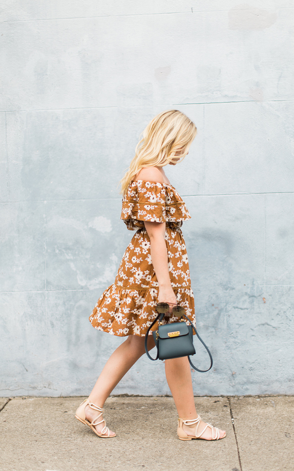 Mustard Seed Floral Dress
