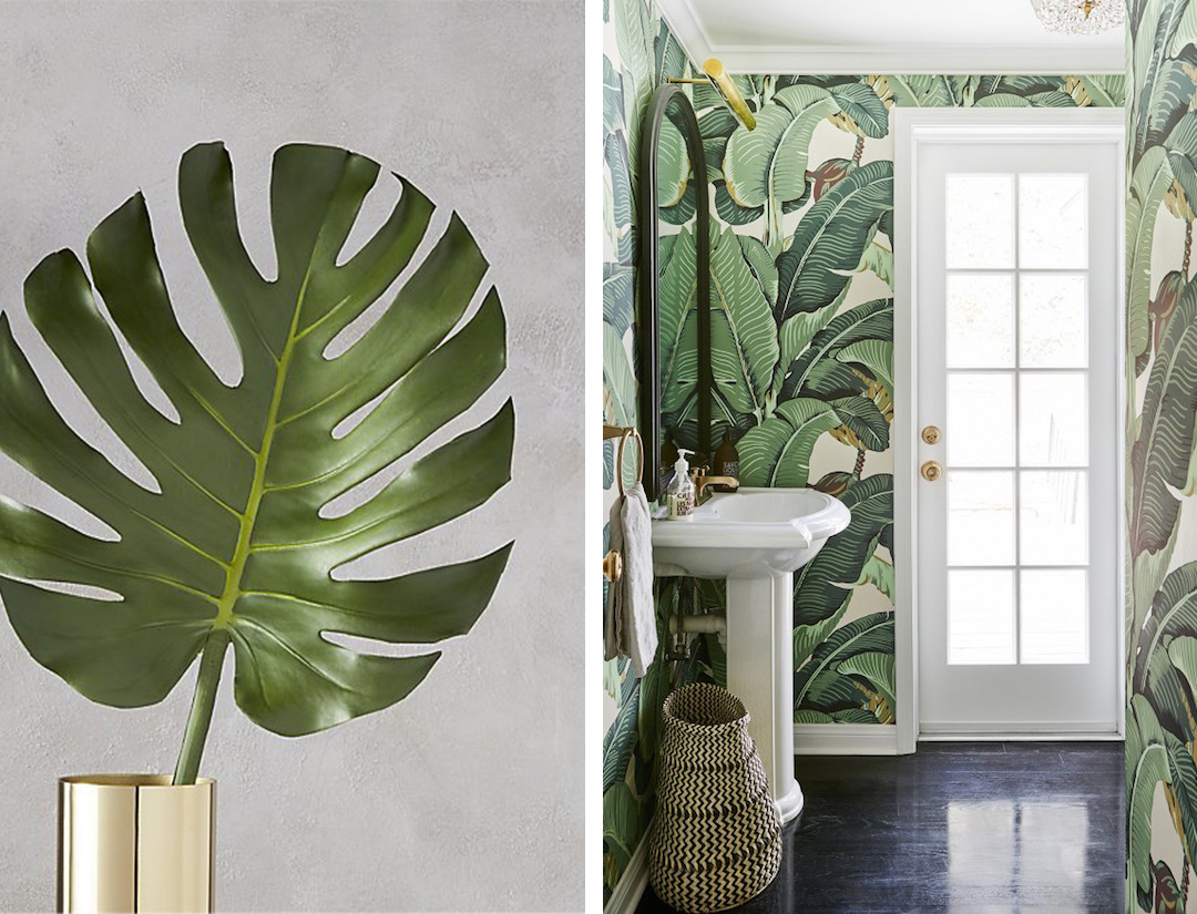 Palm Inspired Guest Room