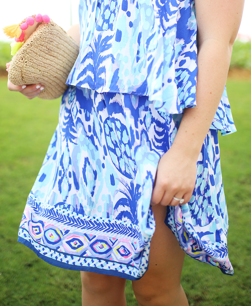 Lilly Pulitzer Pop Over Dress