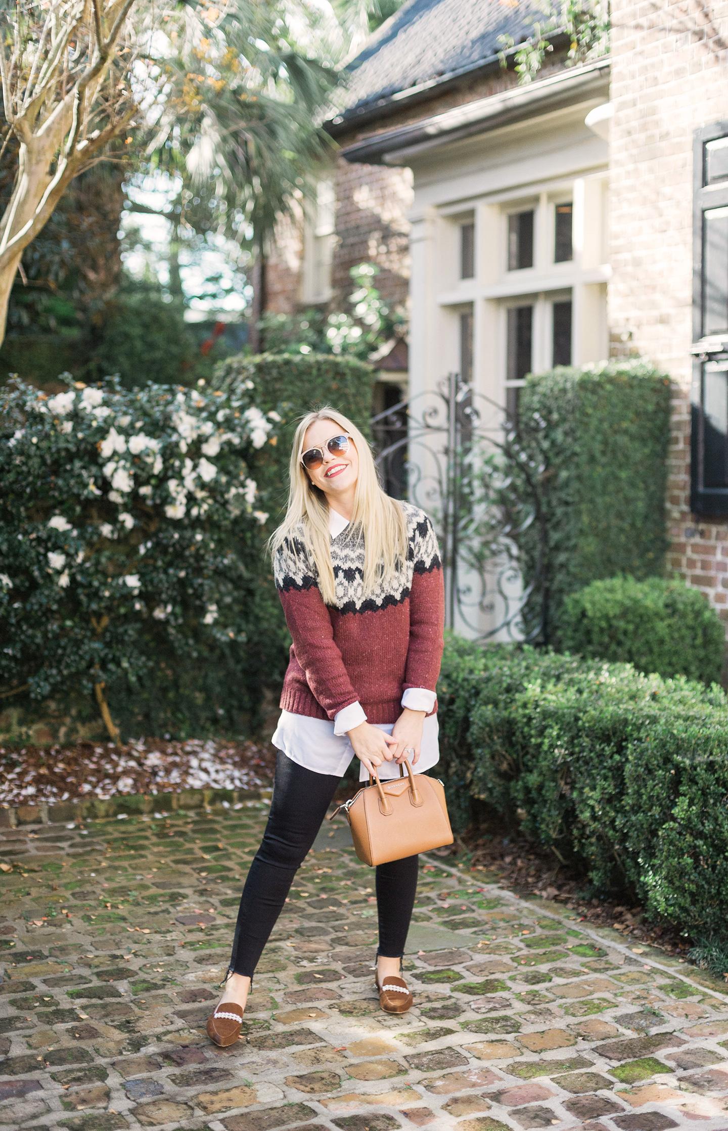 Fair Isle Sweater in Charleston
