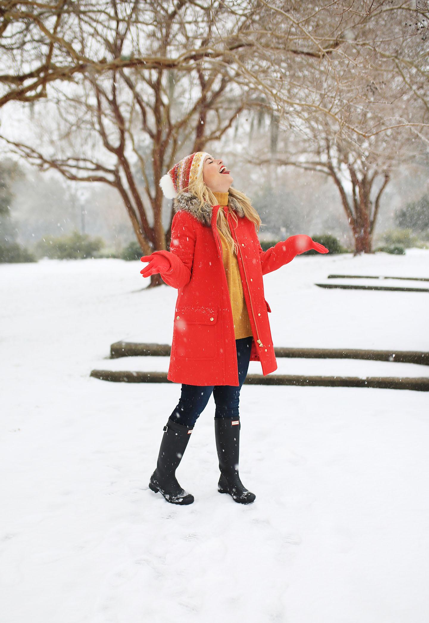 A Charleston Snow Day