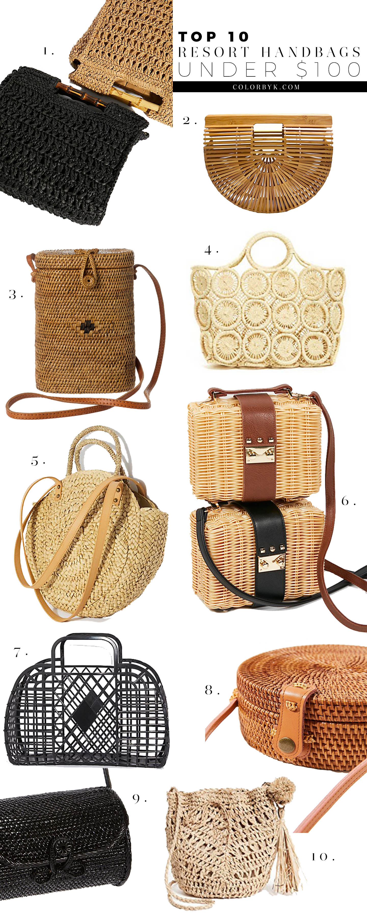 Resort Handbags Under $100