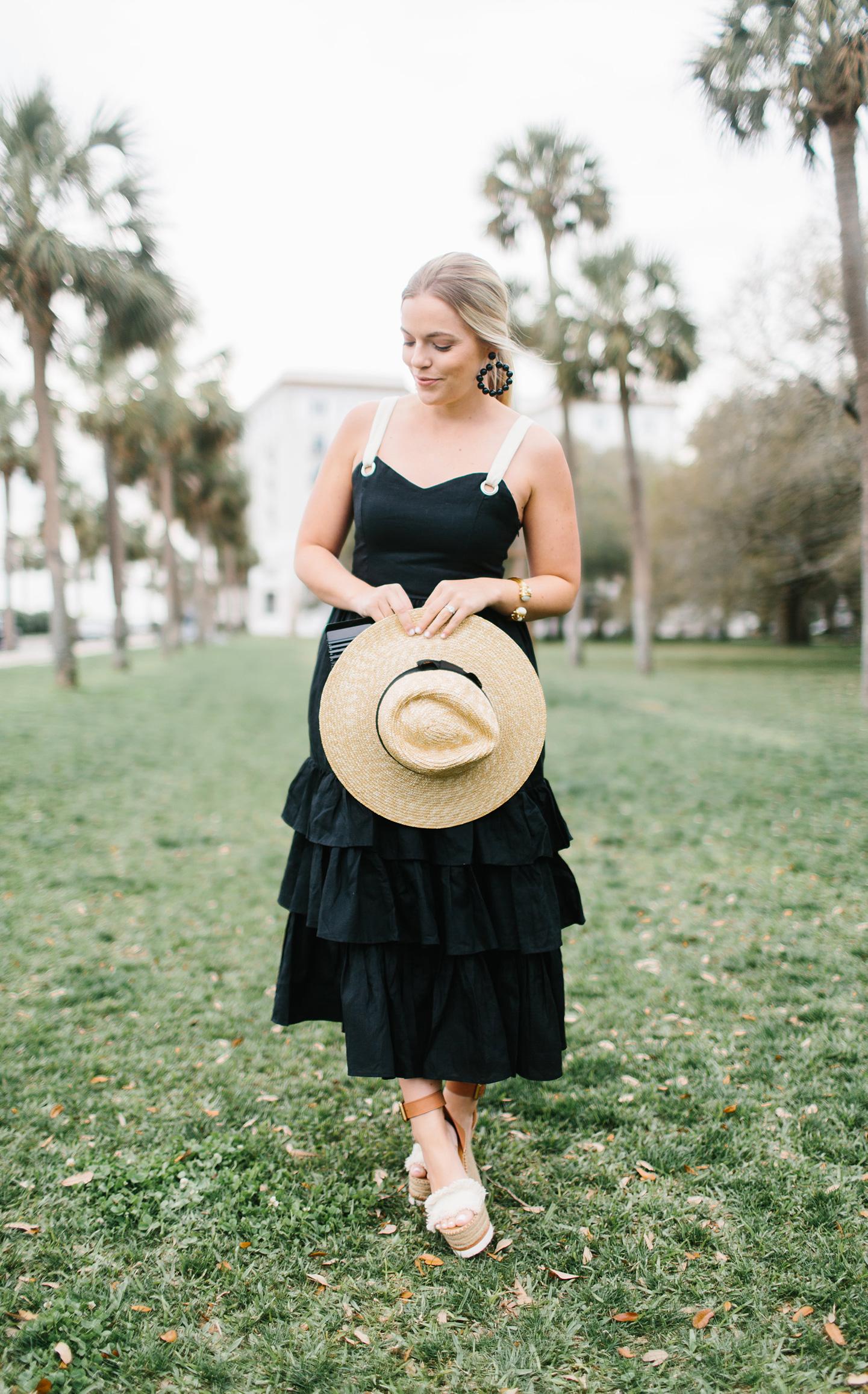 Black Tiered Sundress