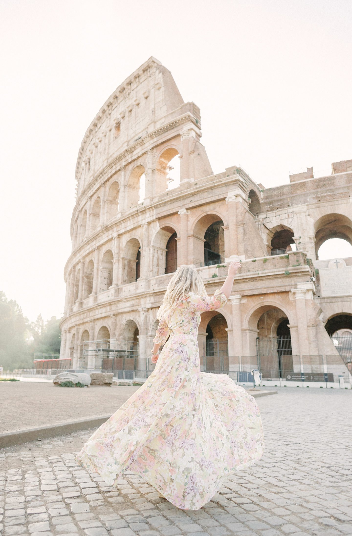 Yumi Kim at the Colosseum