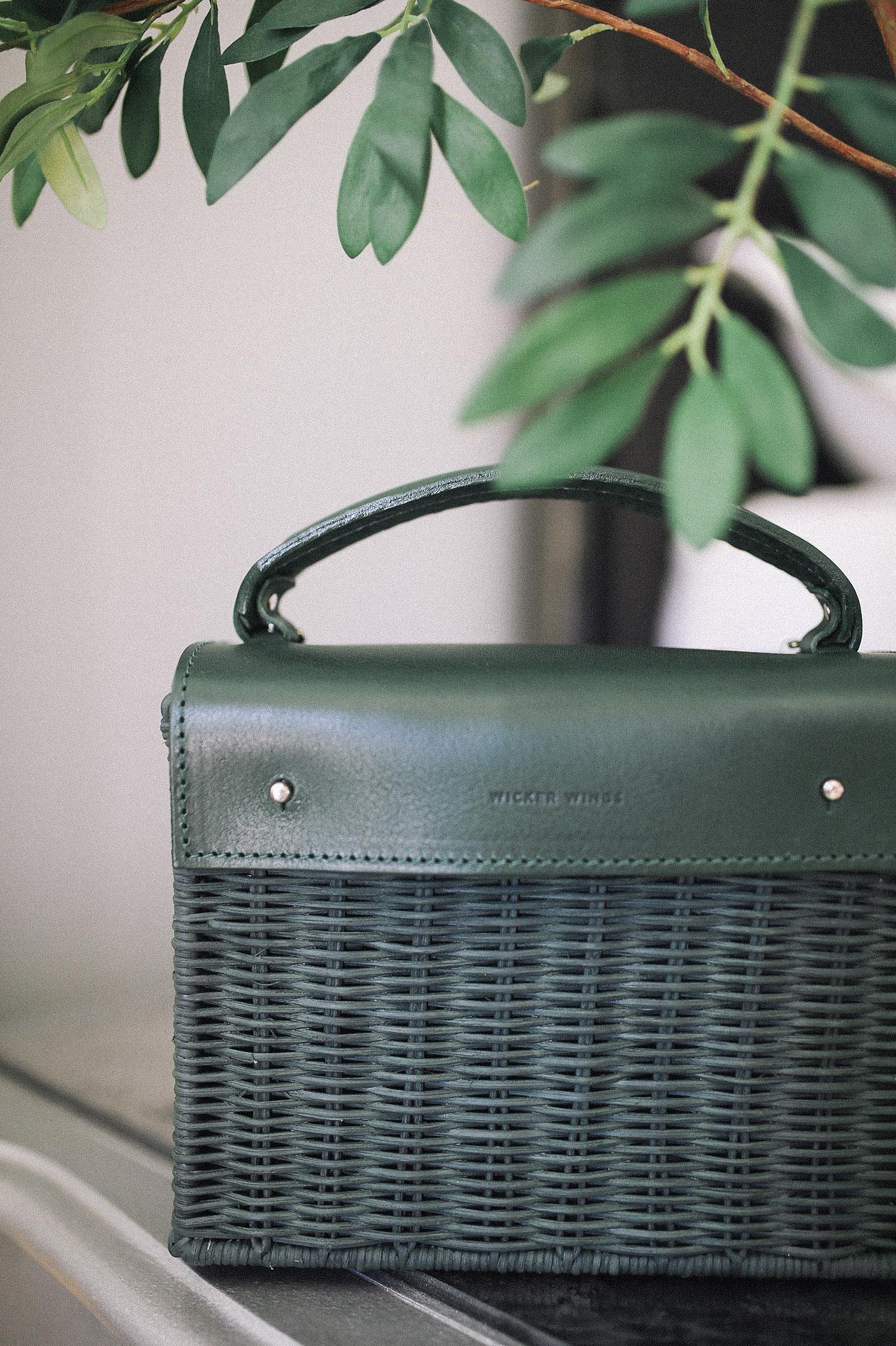 Wicker Handbags for Fall
