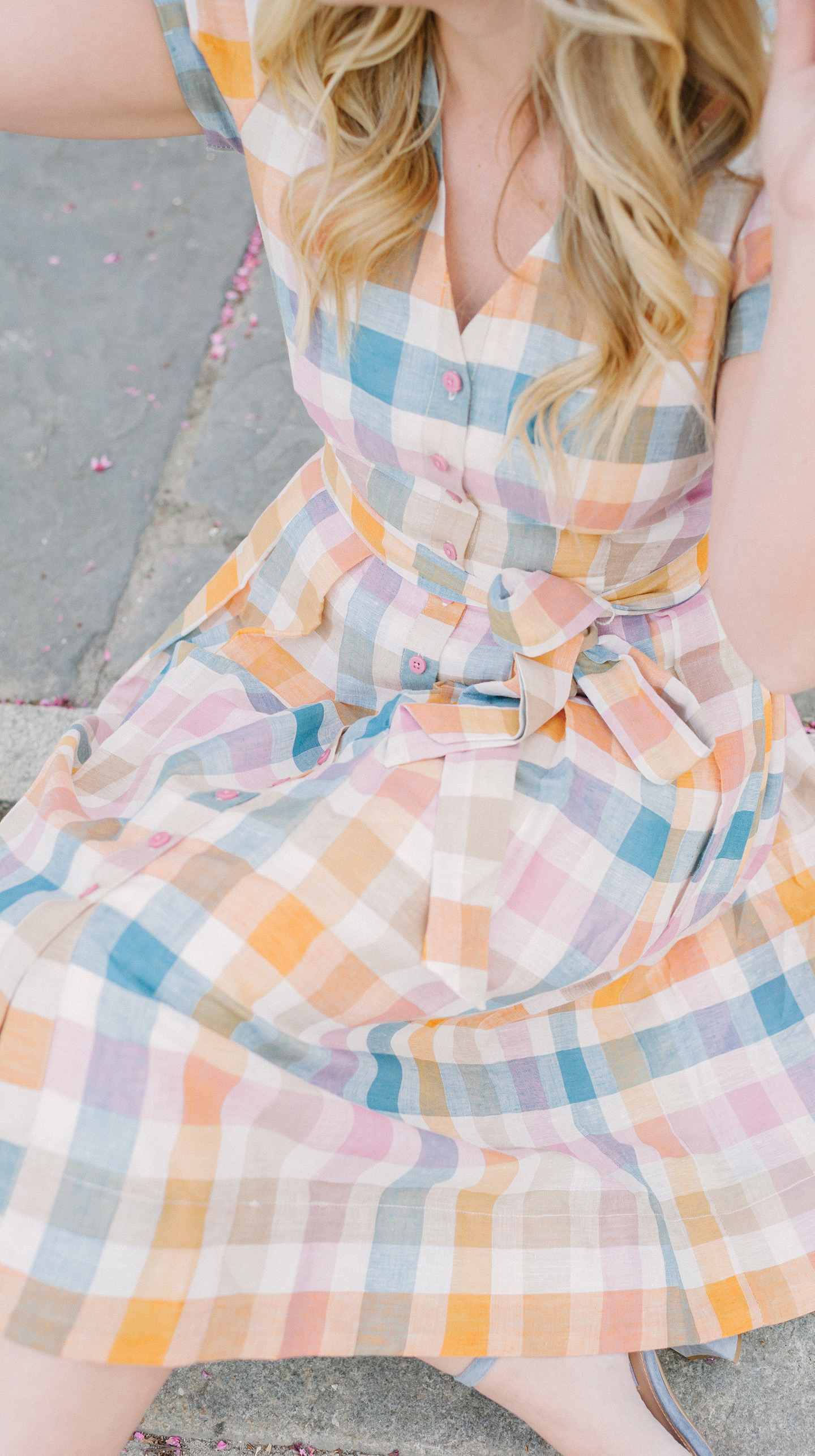Colorful Checkered Dress | COLOR by K