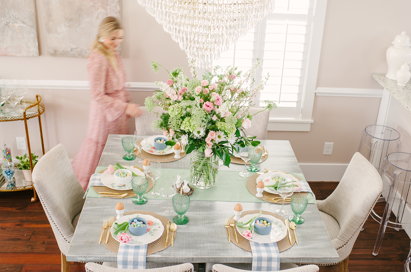 Easter Tablescape | COLOR by K