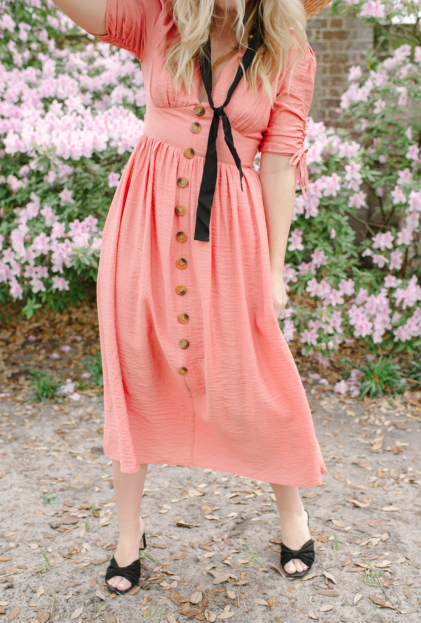 Living Coral Sundress | COLOR by K