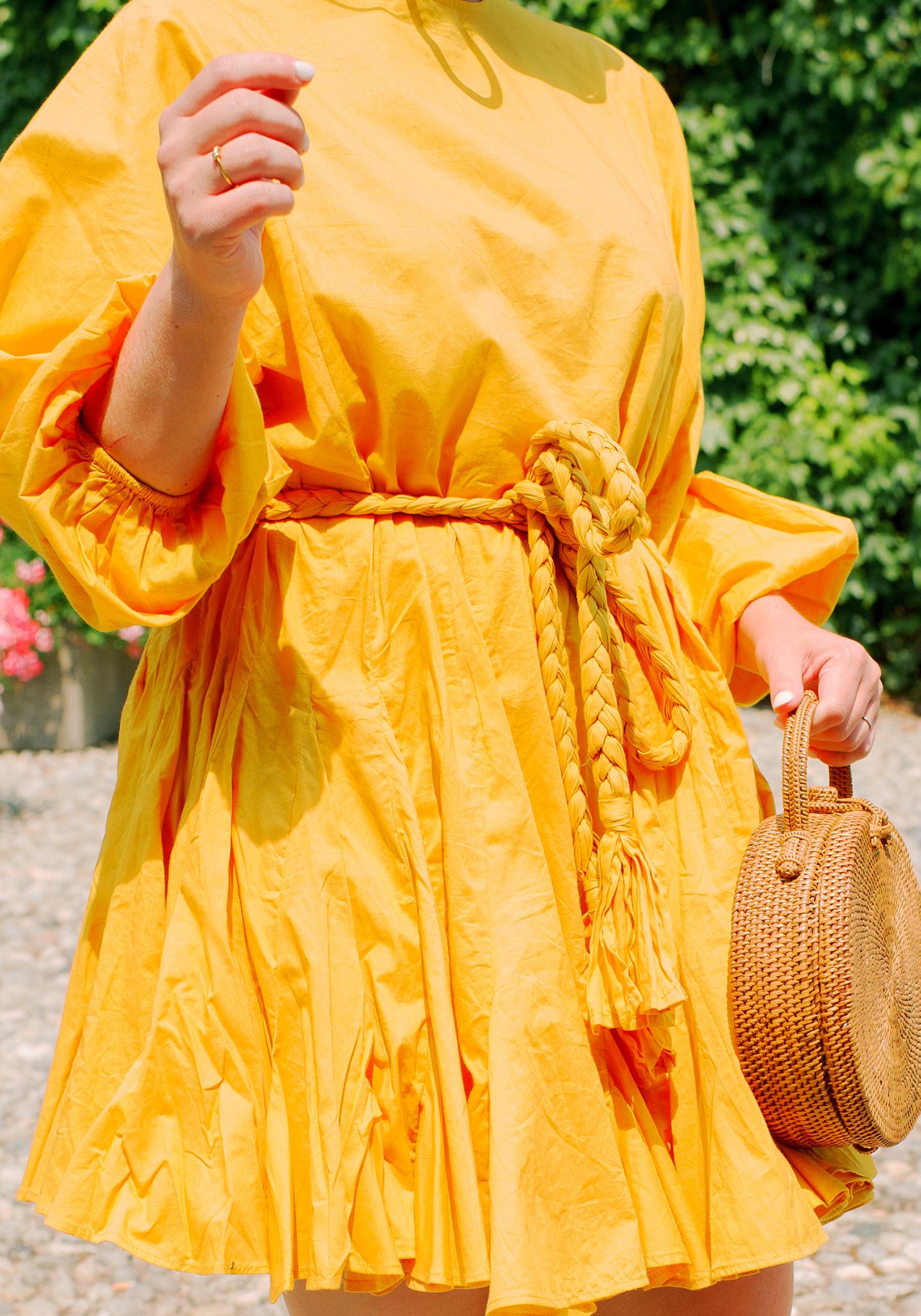 Rhode Resort Ella Dress in Saffron