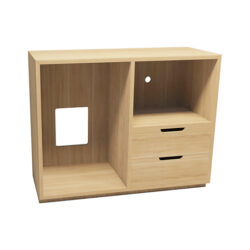 Olsen Media Unit with Drawers