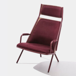 Zafra High Back Lounge Chair