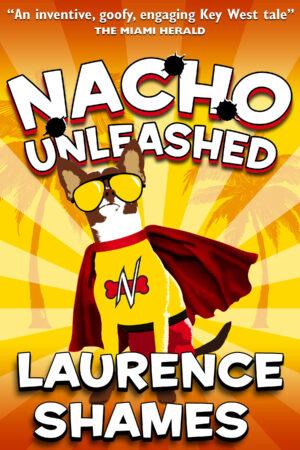 Chihuahua in a superhero cape