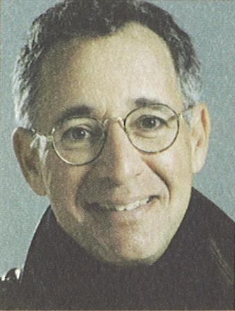 close-up of author