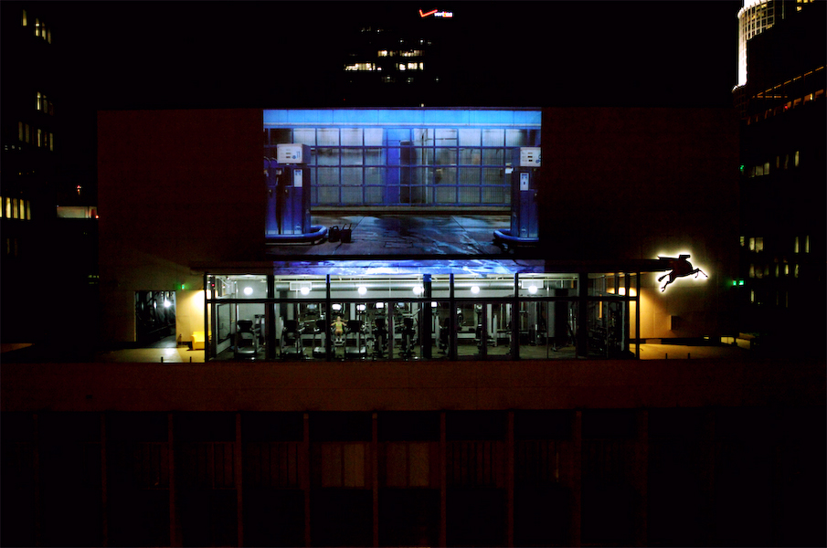 THE SERIES (Night Projection), The Standard Hotel 2012