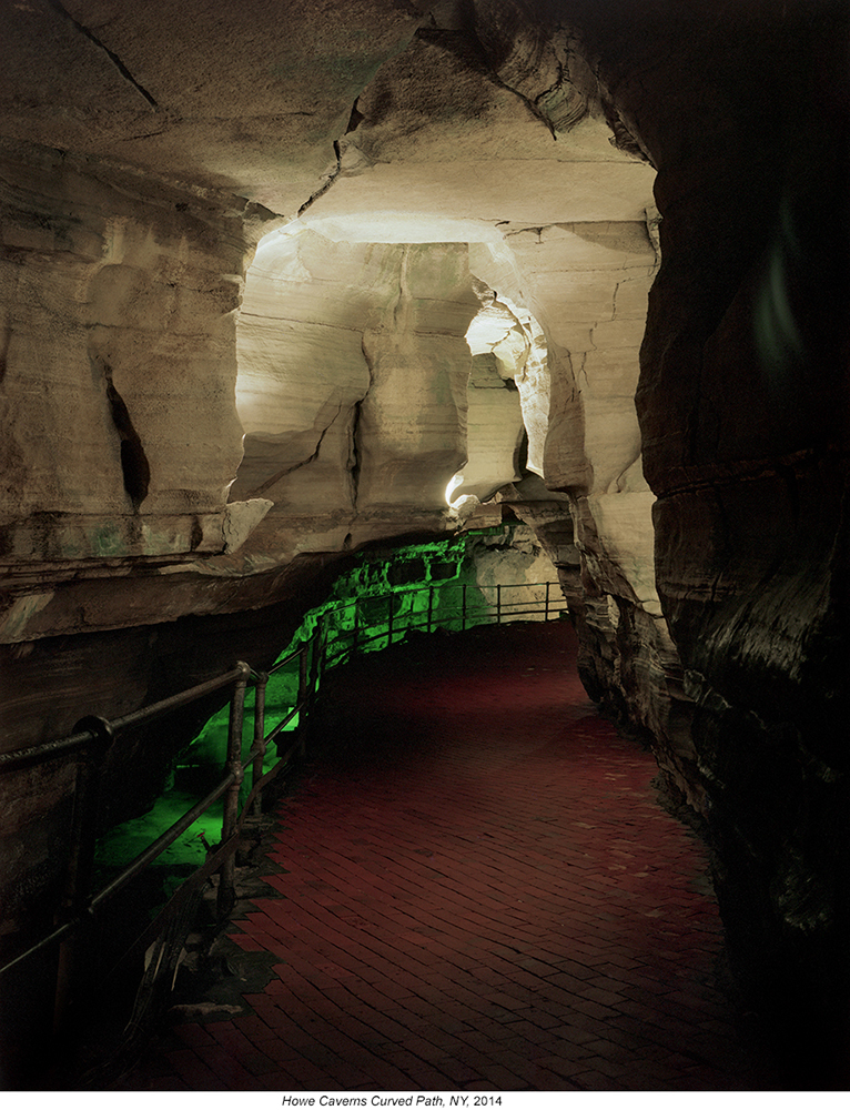 Austin-Irving_Howe-Caverns_Curved-Path_2014