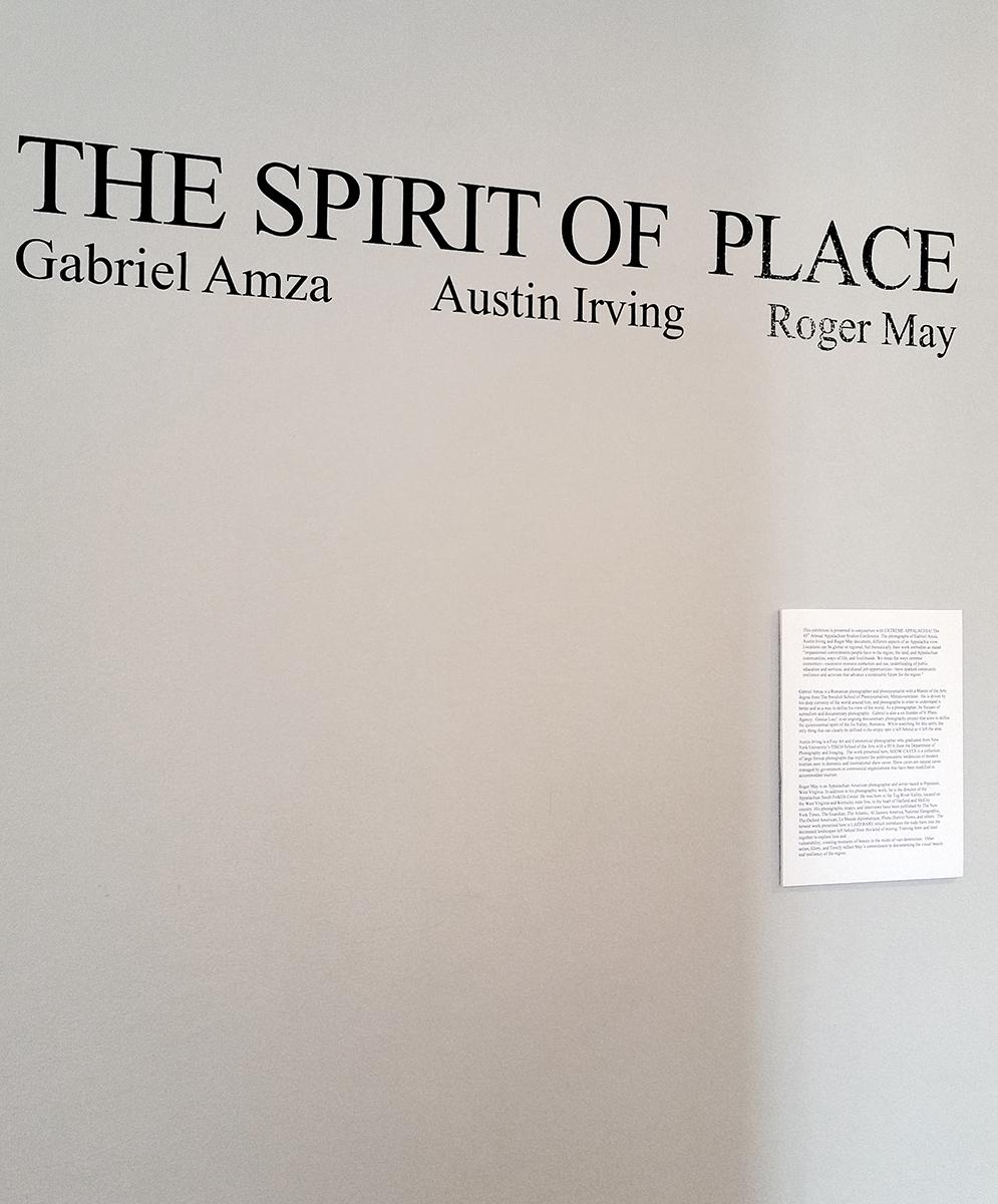 The Spirit Of A Place, The Armory Gallery, Blacksburg VA, 2017