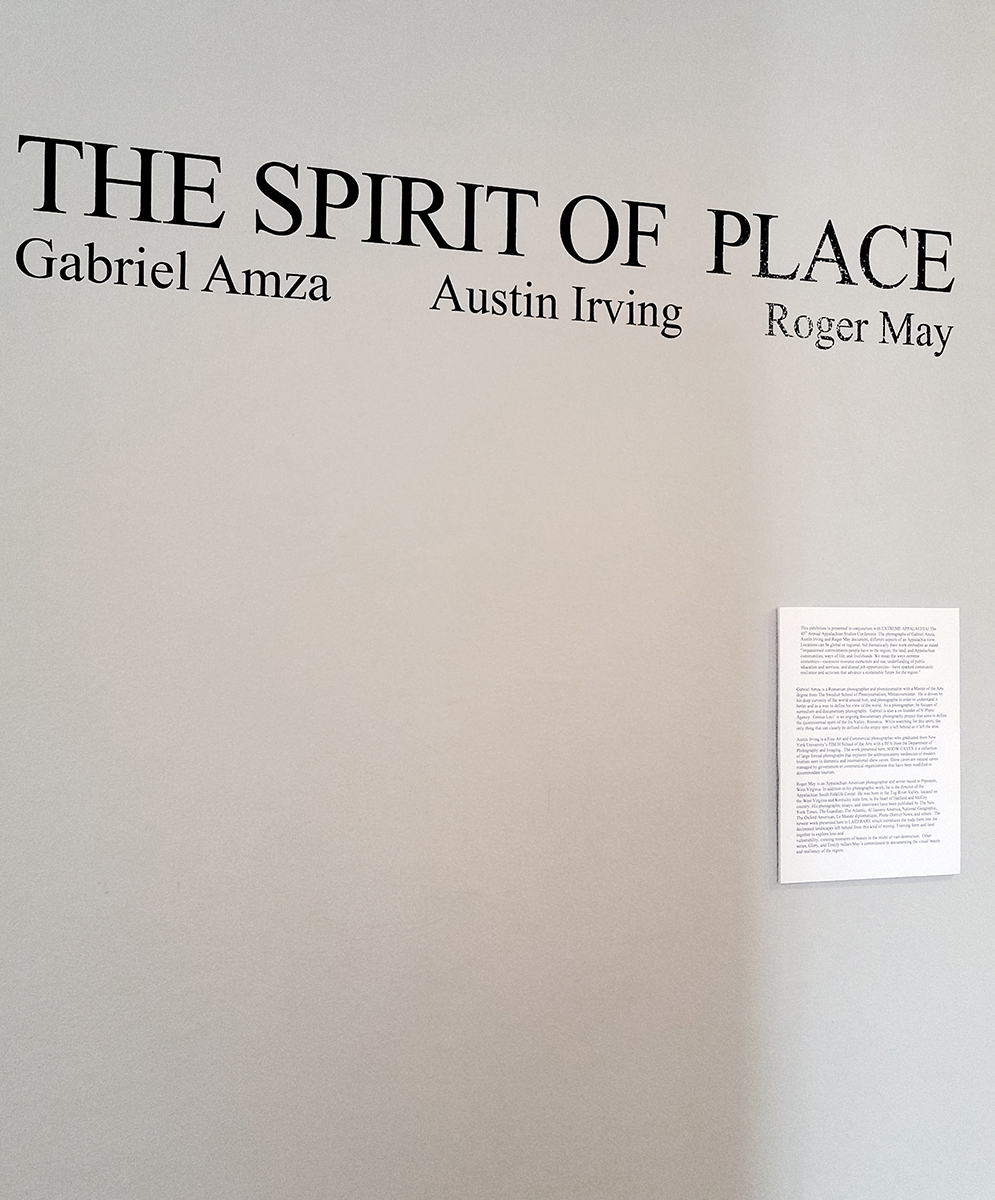 The Spirit Of A Place, The Armory Gallery, Blacksburg VA, 2017