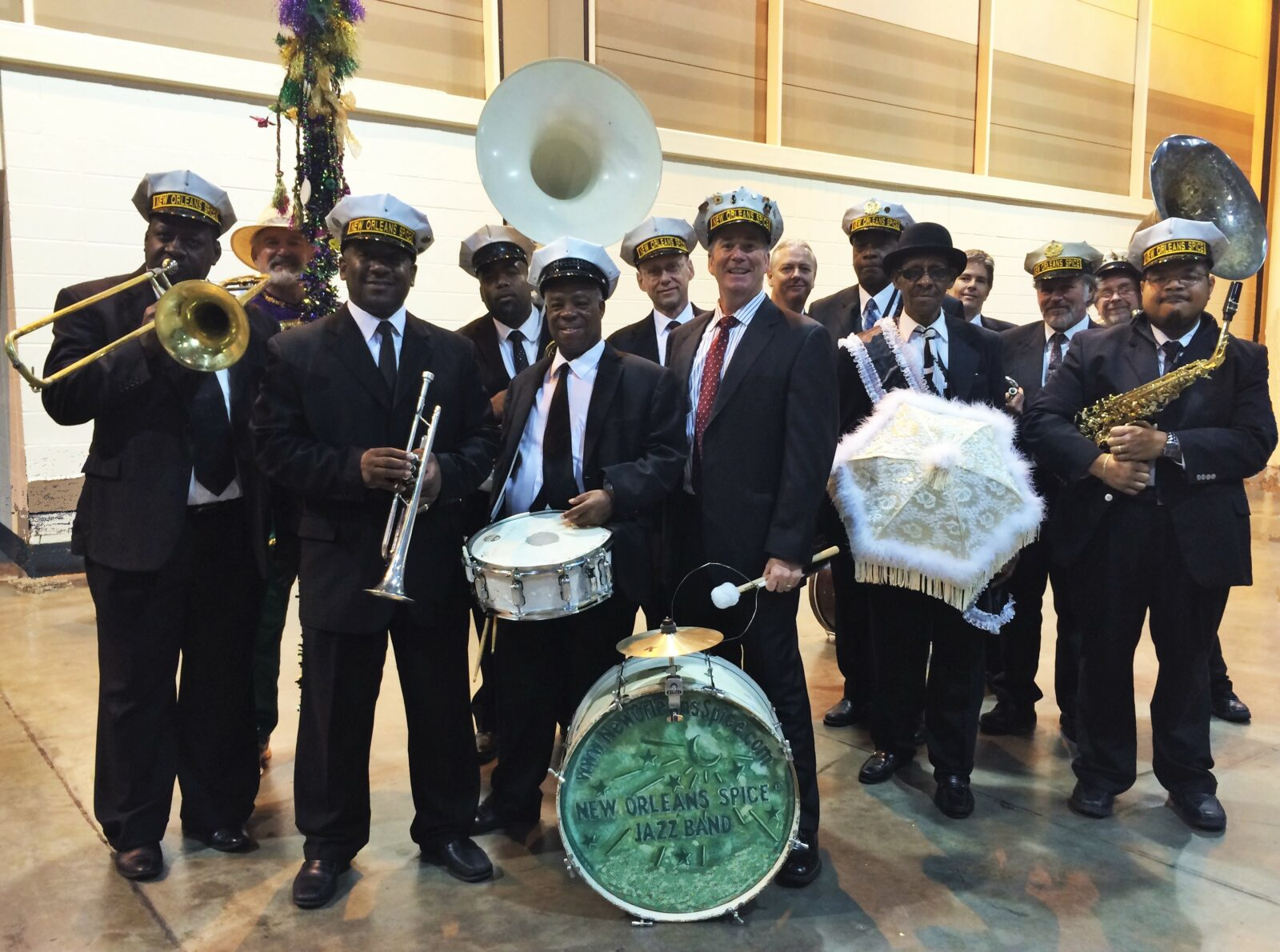 New Orleans Spice® Brass Band 14-piece