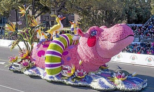 Rose Parade 2015 - Hippo