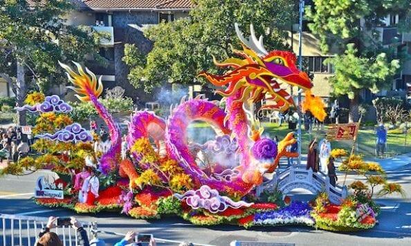Rose Parade - Fiesta Dragon
