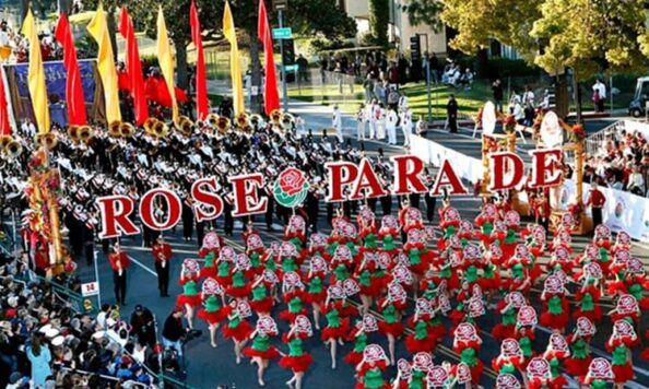 Tournament of Roses parade packages include seeing marching bands