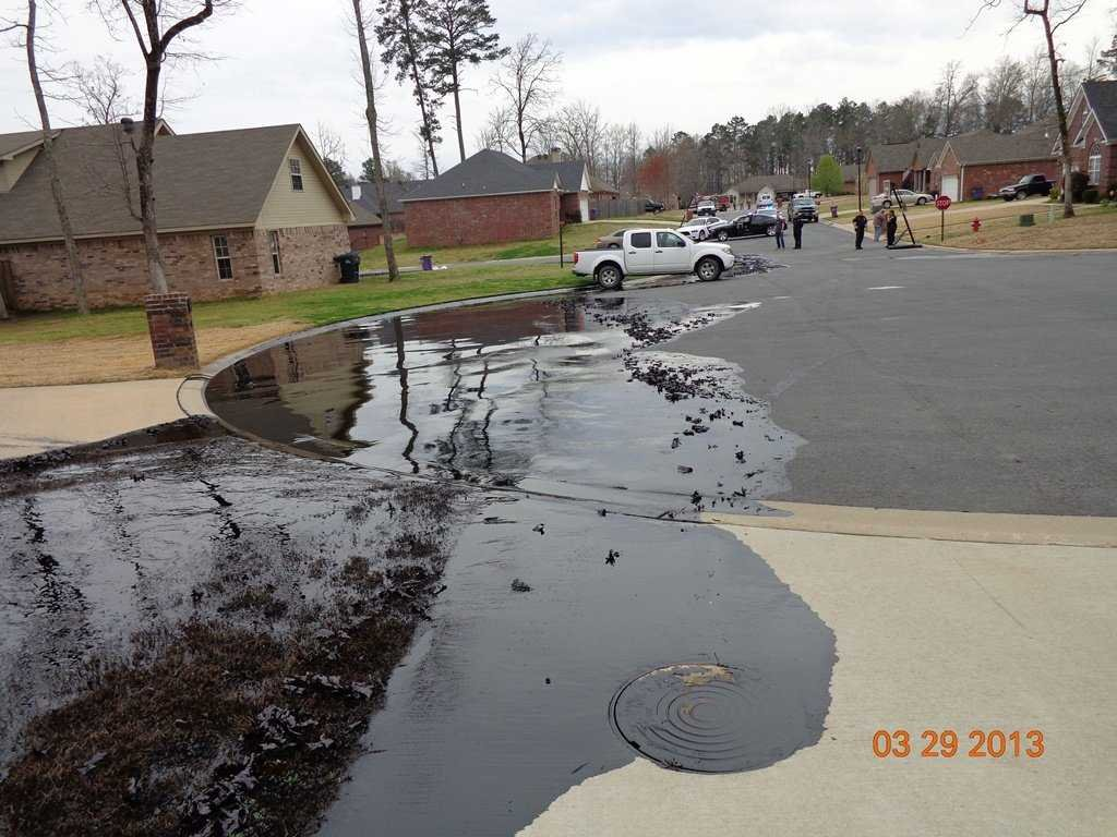 When a tar sands pipeline ruptured in Mayflower, Arkansas, nearby elementary school children became sick from oil fumes and over 22 homes have since been demolished because building material absorbed oil vapors and particulates and became toxic. Current response plans do not deal with protocols to protect public health–or mitigate harm from exposure.