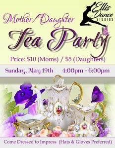 EDS Mother Daughter Tea Party