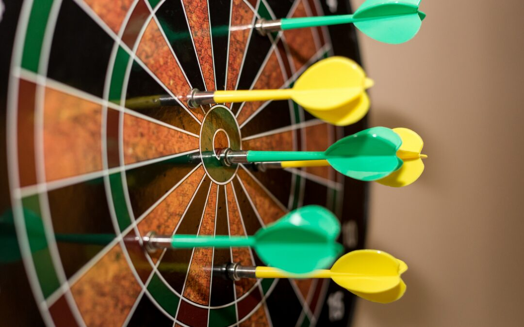 Are you a high-achieving woman over 50? Get a dartboard!