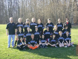 Rockford Women's Rugby Club is victorious over Grandville.