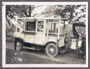 IN THE FAMILY—The Koinis family popcorn wagon. After coming to America from Greece, the Koinis family went into business for themselves in 1906. Family have operated the businesses continuously since and most recently opned doors May 30 as The Sweet Tooth at 53 E. Bridge in downtown Rockford.