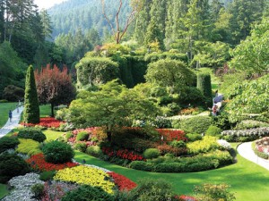 SPECTACULAR—The Sunken Garden is one of many gardens at the heart of Butchart Gardens in Victoria, B.C., Canada.