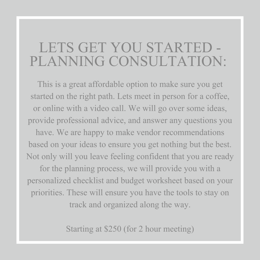 Lets Get you Started