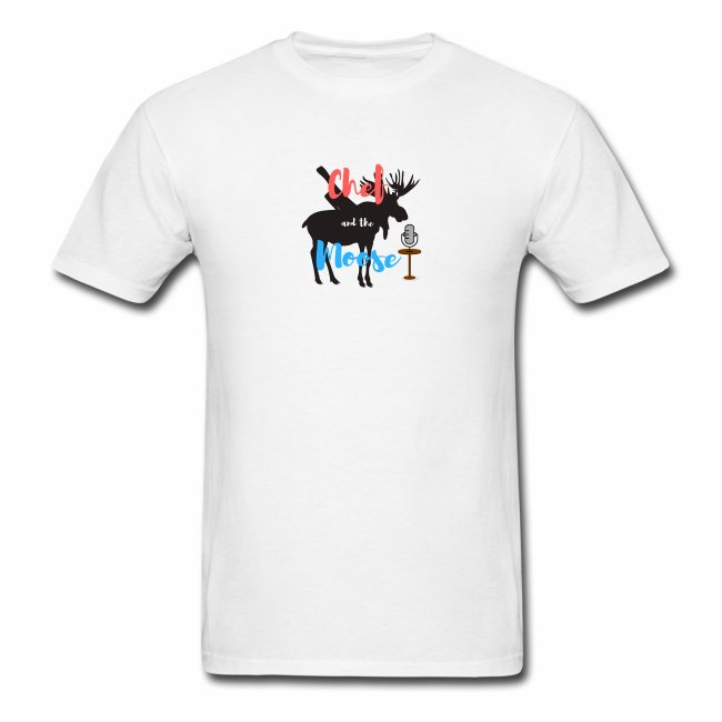 Chef and the Moose Tshirt Logo
