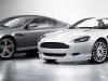 Aston DB9 in both tops