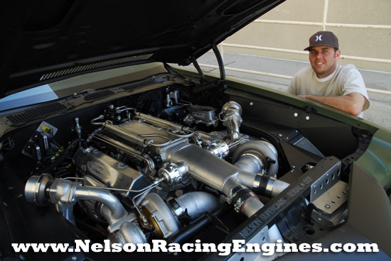 Nelson and the F-Bomb Twin Turbo