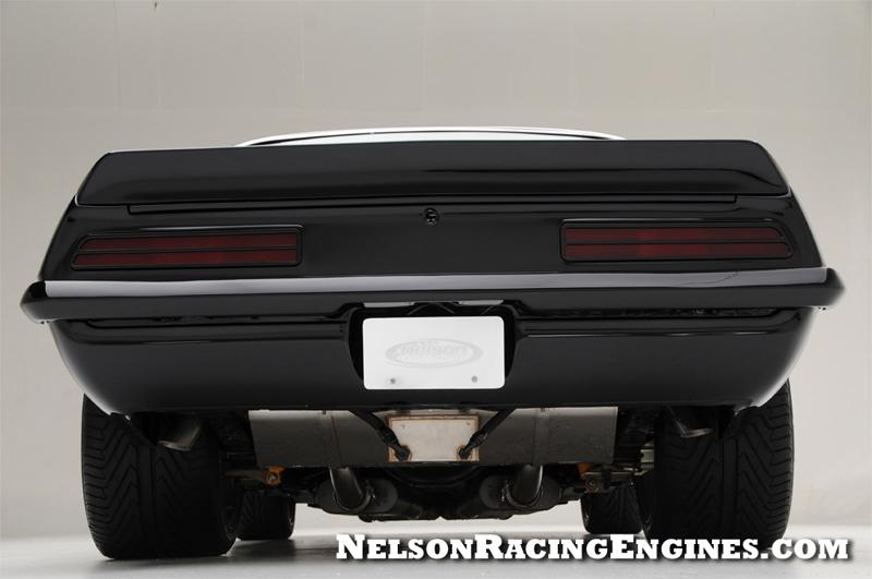 Nelson Racing Engines 1969 Camaro Ass End