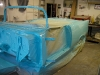 Chassis Getting Painted