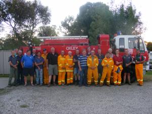 Oxley Rural Fire Brigade 2011
