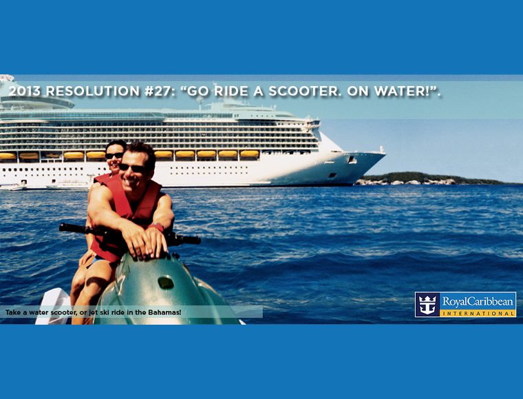 Royal Caribbean Resolution Poster