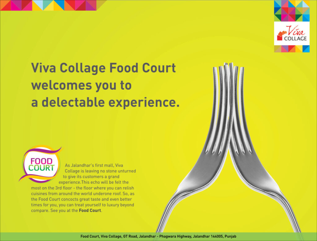 Viva Collage - Food Court Launch Ad