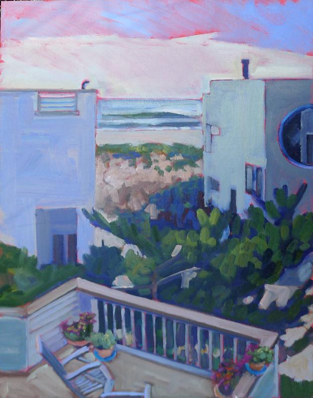 """Rooftop Aerie,"" Long Beach Island, New Jersey"
