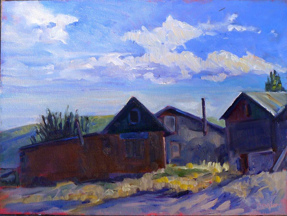 """""""Grandparents' farm,"""" Pecos, NM"""