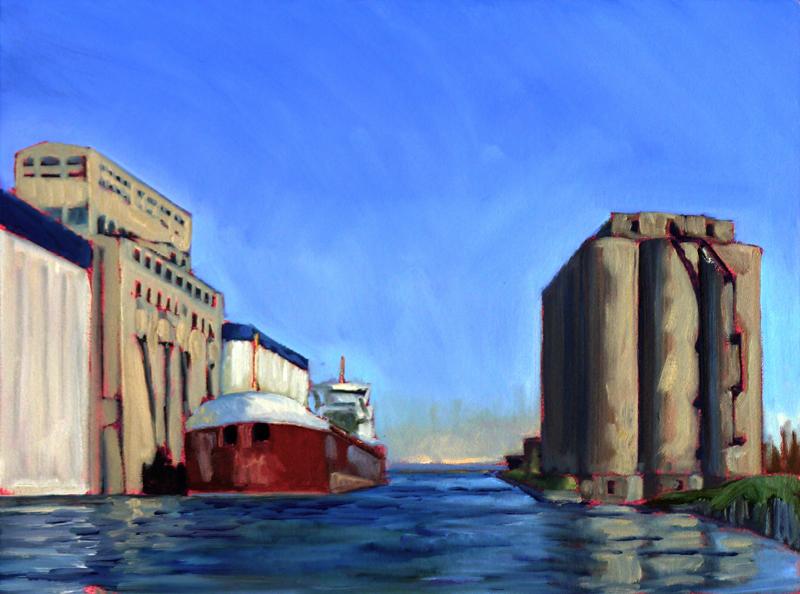 """Thunder Bay Freighter,"" Thunder Bay, Ontario"