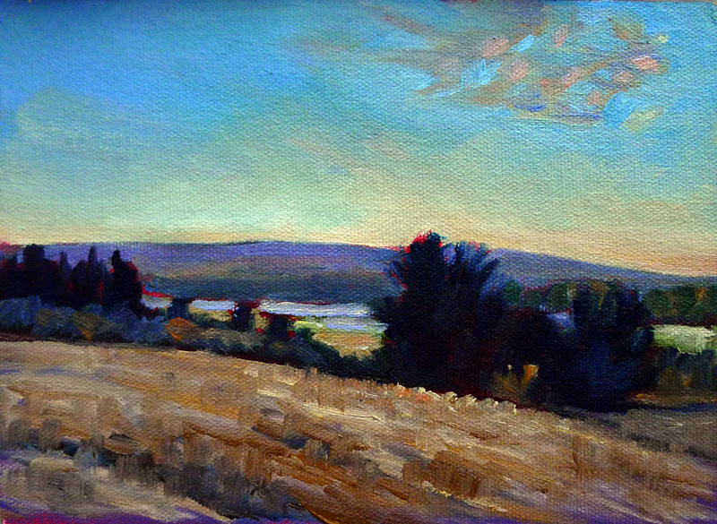"""""""Cobequid Bay farm,"""" Hants County, Nova Scotia"""
