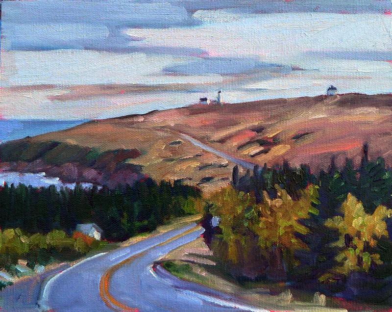 """Cape Spear Road,"" St. John's, Newfoundland"