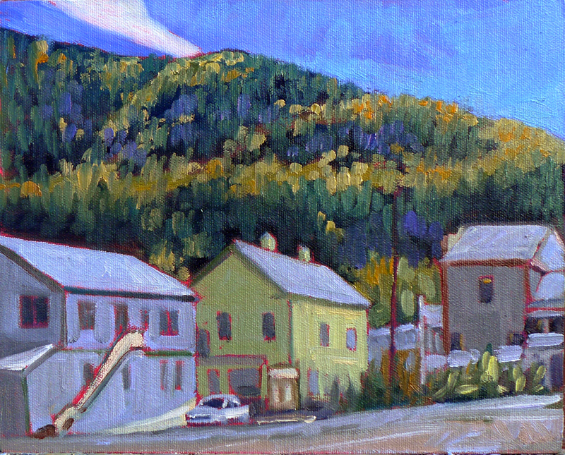 """Princess Street,"" Dawson City, Yukon Territory"