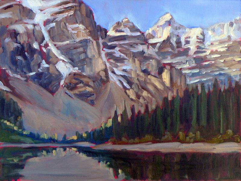"""""""Moraine Lake,"""" Banff National Park, Alberta"""
