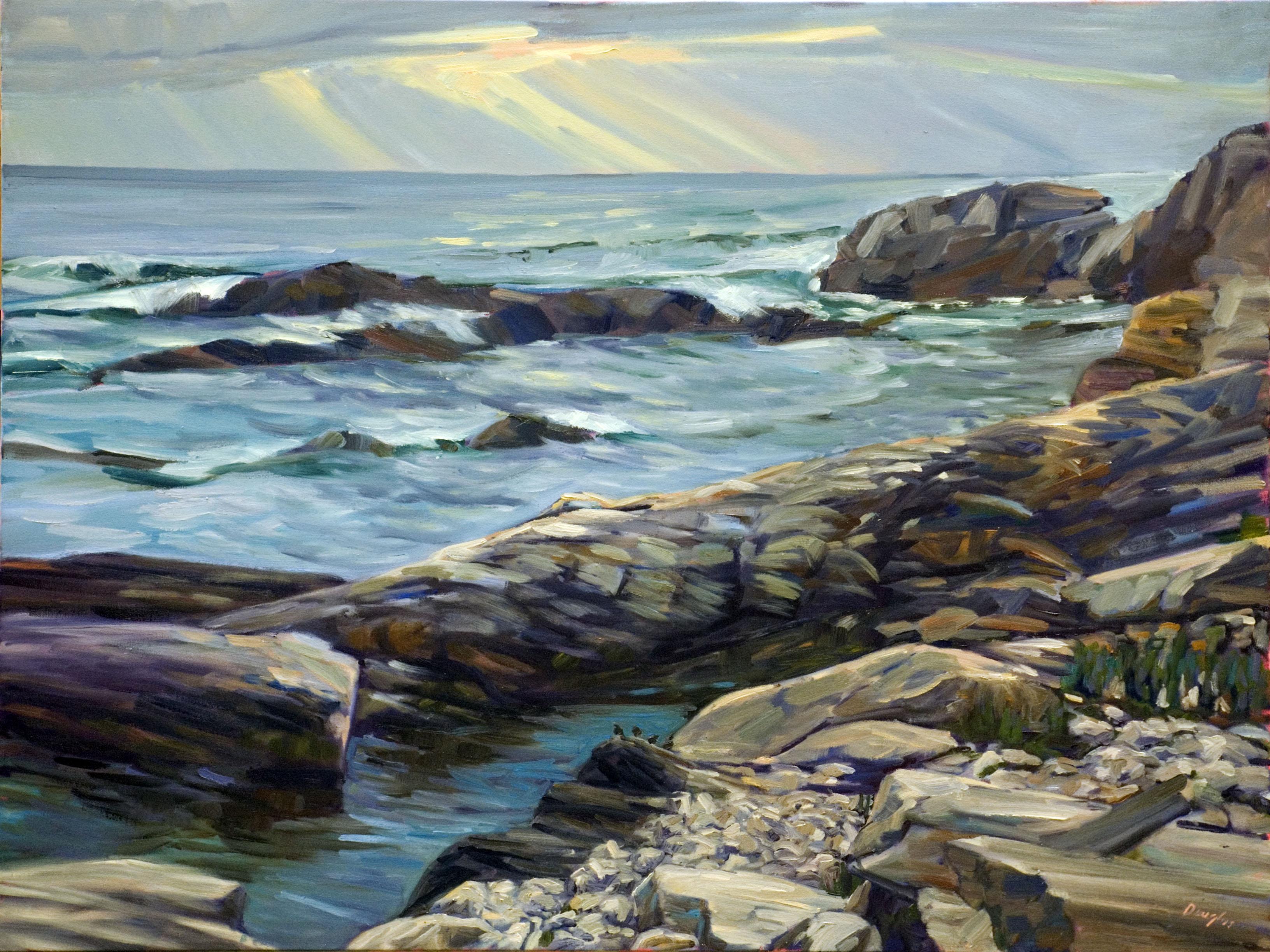 Four Ducks, Cape Elizabeth Paint for Preservation