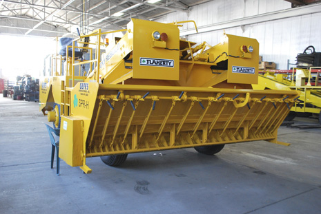 image of used chip spreader front hopper